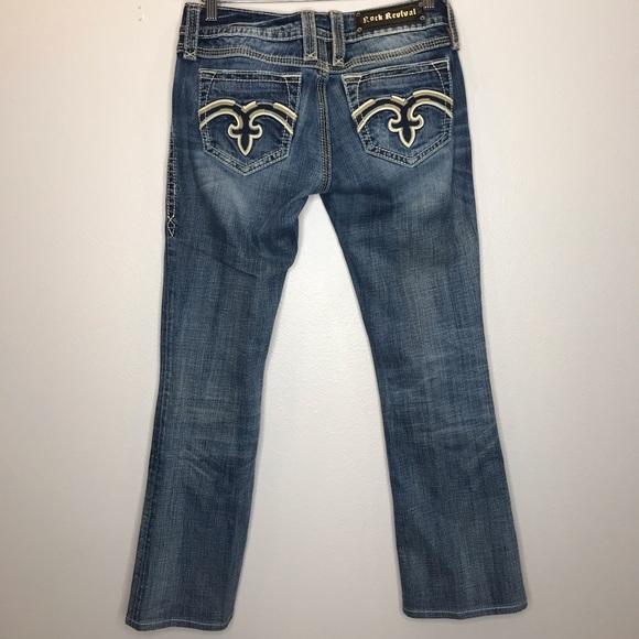 Rock Revival Denim - EUC Rock Revival Alanis Boot Jeans Size 28